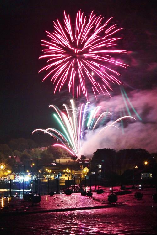 Kirkcudbright Tattoo Fireworks Finale