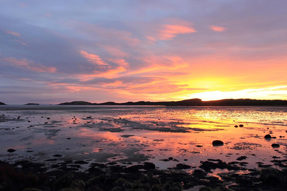 Kirkcudbright Bay Sunset