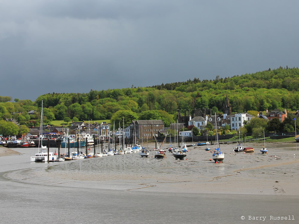 Low tide at Kirkcudbright