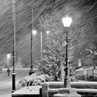 A snowy Christmas in Kirkcudbright