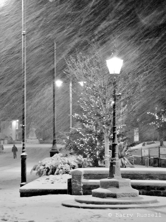 Kirkcudbright snow