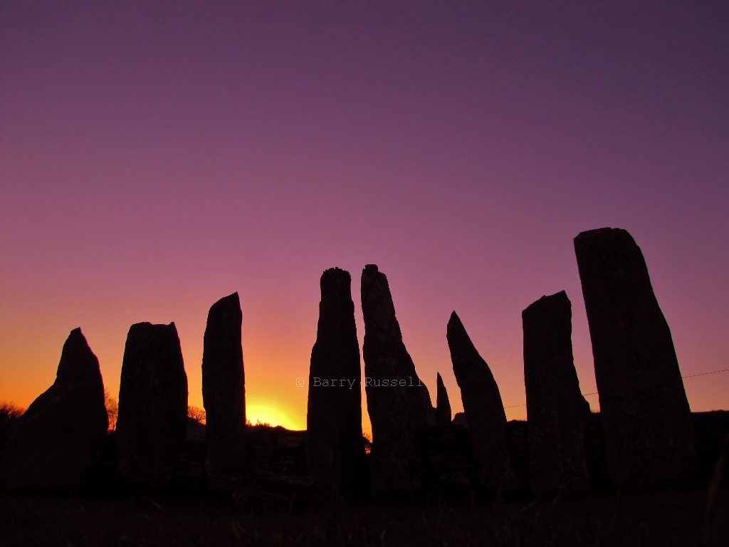 Sunset at Cairn Holy