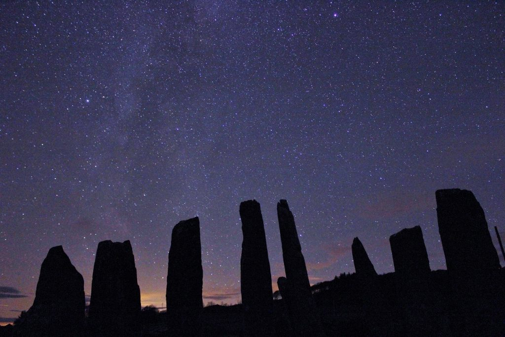 Stars are out at Cairn Holy