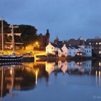 La Malouine tall ship at Kirkcudbright
