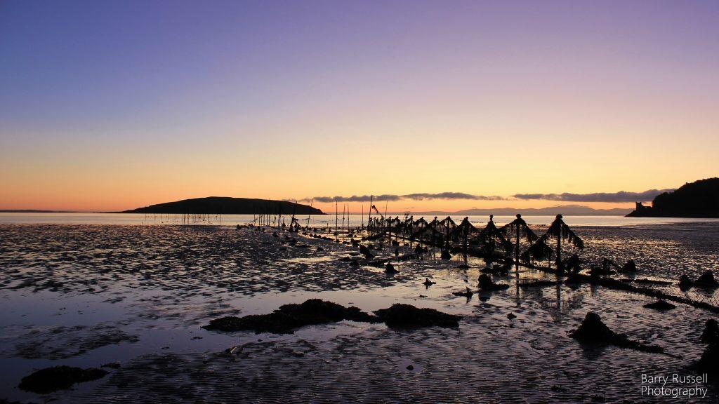 Dawn at Balcary Bay, SW Scotland